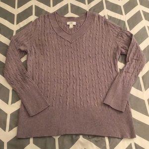 LOFT women's XXL cable knit sweater